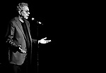 MIAMI BEACH, FLORIDA - APRIL 08: (EDITORS NOTE: This photo has been digitally converted to balck and white.) Actor / Comedian Lewis Black performs during 'The Emperor's New Clothes: The Naked Truth Tour' at Fillmore Miami Beach on Friday April 8, 2016 in Miami Beach, Florida. ( Photo by Johnny Louis / jlnphotography.com )