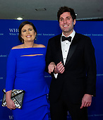 White House press secretary Sarah Sanders and her husband, Bryan arrive for the 2018 White House Correspondents Association Annual Dinner at the Washington Hilton Hotel on Saturday, April 28, 2018.<br /> Credit: Ron Sachs / CNP<br /> <br /> (RESTRICTION: NO New York or New Jersey Newspapers or newspapers within a 75 mile radius of New York City)