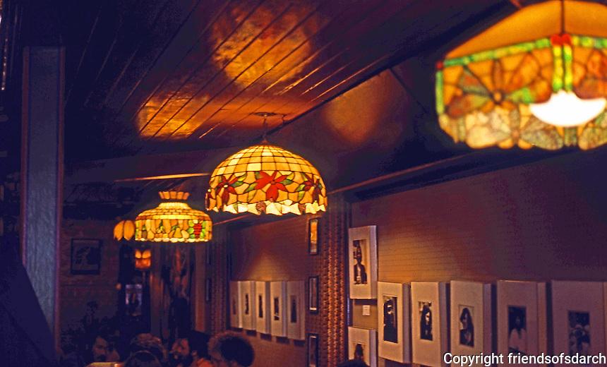 San Francisco:  North Beach Tour--Vesuvio's Interior.