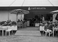 Henley-on-Thames. United Kingdom.  General View, Regatta Cafe,2017 Henley Royal Regatta, Henley Reach, River Thames. <br /> <br /> 10:52:19  Tuesday  27/06/2017   <br /> <br /> [Mandatory Credit. Peter SPURRIER/Intersport Images.