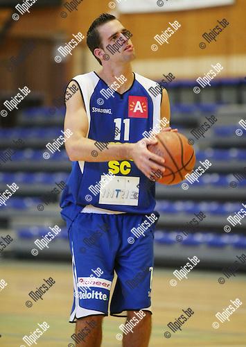 2008-08-30 / Basketbal / Sint Jan Basket /  Vincent Verbeeck..Foto: Maarten Straetemans (SMB)
