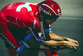 September 5th 2017, Circuito de Navarra, Spain; Cycling, Vuelta a Espana Stage 16, individual time trial; Maxim Belkov