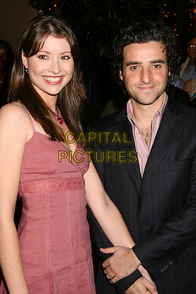 VANESSA BRITTING & DAVID KRUMHOLTZ.The 8th Annual Family Television Awards at the Beverly Hilton Hotel, Beverly Hills, California, USA..November 29th, 2006.half length pink dress black suit jacket.CAP/ADM/BP.©Byron Purvis/AdMedia/Capital Pictures
