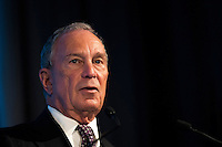 Former New York City mayor Michael Bloomberg speaks at the U.S.-Africa Business Forum at the Plaza Hotel, September 21, 2016 in New York City. The forum is focused on trade and investment opportunities on the African continent for African heads of government and American business leaders.<br /> Credit: Drew Angerer / Pool via CNP /MediaPunch
