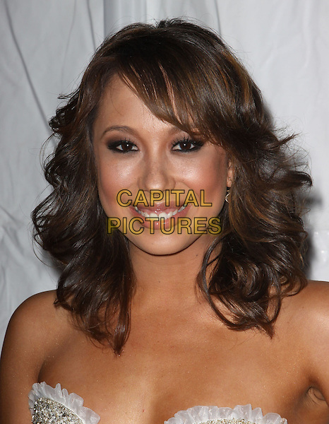 CHERYL BURKE .E! Oscar Viewing And After Party held At Drai's at The W Hotel, Hollywood, California, USA..March 7th, 2010.headshot portrait strapless  .CAP/ADM/KB.©Kevan Brooks/AdMedia/Capital Pictures.
