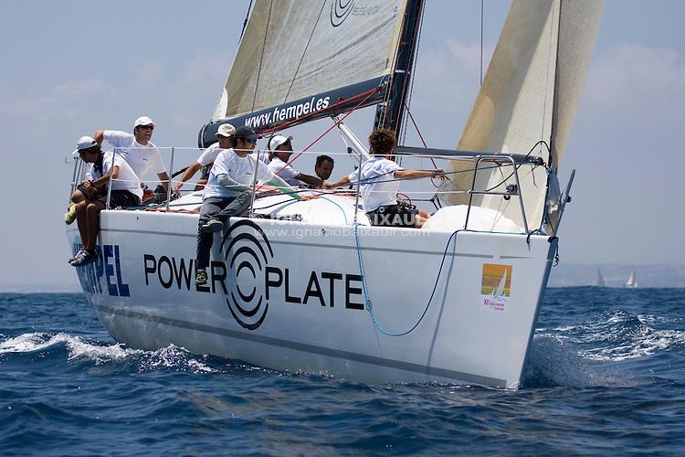 ESP6966 .POWER PLATE-HEMPEL .GUSTAVO MARTINEZ .JAIME MONJO CARRIO .R.C.N. GRAN CANARIA .COMET 41S MOD. .XIII TROFEO TABARCA CIUDAD DE ALICANTE - Real Club de Regatas de Alicante - 3-6 July 2008 - Alicante, España / Spain
