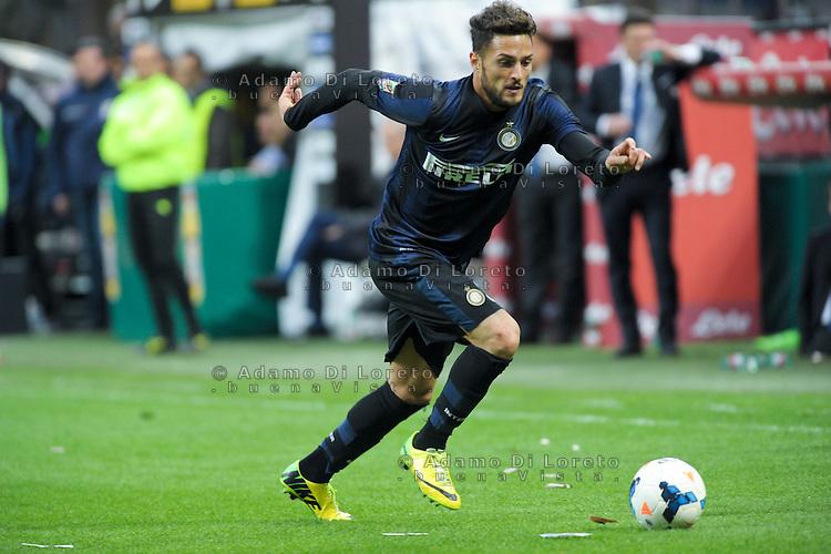 Danilo D'Ambrosio (Inter) during the Serie Amatch between Inter vs Atalanta, on March 23, 2014. Photo: Adamo Di Loreto/NurPhoto