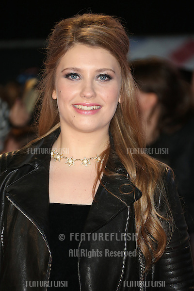 "Ella Henderson arriving for the ""The Twilight Saga: Breaking Dawn Part 2"" premiere at the Odeon Leicester Square, London. 14/11/2012 Picture by: Henry Harris / Featureflash"