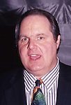 "Rush Limbaugh promoting ""The Way Things Ought To Be"" on January 12, 1993 in New York City."