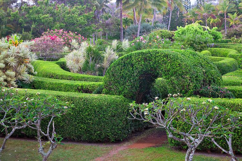 Na Aina Kai Botanical Gardens. Kauai, Hawaii