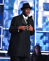 Jimmy Jam speaks at the 61st annual Grammy Awards on Sunday, Feb. 10, 2019, in Los Angeles. (Photo by Matt Sayles/Invision/AP)
