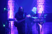DREAM THEATER - John Myung and Jordan Rudess - performing live at the Eventim Apollo in Hammersmith London UK - 23 Apr 2017.  Photo credit: Zaine Lewis/IconicPix