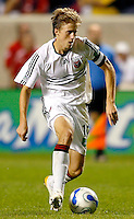 DC United midfielder Brian Carroll (16) prepares to take on the Chicago defense.  The Chicago Fire defeated the DC United 3-0 in the semifinals of the U.S. Open Cup at Toyota Park in Bridgeview, IL on September 6, 2006...