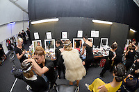 Wellington Fashion Week 2013 World Opening Showcase AW'13 Collection at Wellington Fashion Week Show Room, Odlin's Plaza, Wellington, New Zealand on Wednesday 3rd April 2013.<br /> Photo by Masanori Udagawa<br /> www.photowellington.photoshelter.com