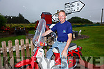 Dust off your old Honda for the Annual Skellig Ring Run with all proceeds going to Valentia Lifeboat, pictured here Chris O'Sullivan on his Honda 50 all ready for the event.