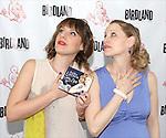 Anika Larsen & Company backstage at Birdland