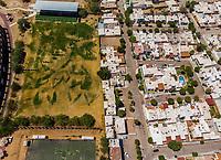 Vista aerea de Complejo deportivo de la Comisión Estatal de Deporte, CODESON en Hermosillo, Sonora....<br /> Estadio Héroe de Nacozari. <br /> Campo De Tiro Con Arco.<br />  <br /> <br /> Photo: (NortePhoto / LuisGutierrez)<br /> <br /> ...<br /> keywords: