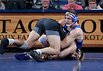 SIOUX FALLS, SD - NOVEMBER 15: Zach Carlson from South Dakota State controls Lou Deprez from Binghamton during their 184 pound match Friday night at the Sanford Pentagon in Sioux Falls, SD. (Photo by Dave Eggen/Inertia)