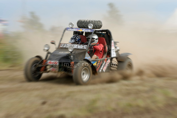 Small but very fast 4x2 buggy, racing at the Rallye Dresden Breslau 2007. --- No releases available. Automotive trademarks are the property of the trademark holder, authorization may be needed for some uses.