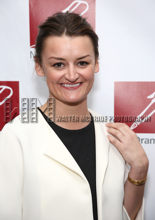 Alison Wright attends The New Dramatists' 68th Annual Spring Luncheon at the Marriott Marquis on May 16, 2017 in New York City.