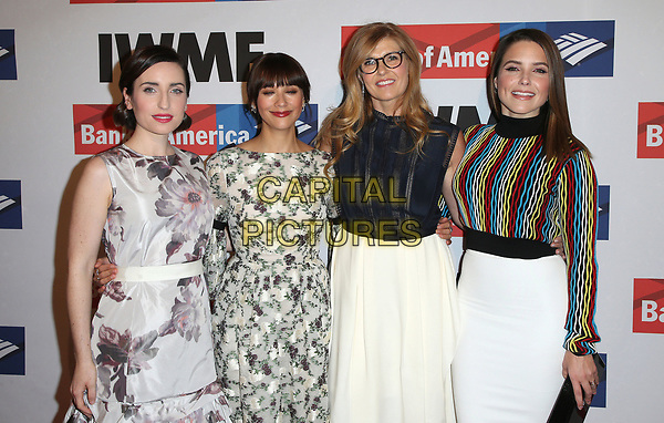 25 October 2017 - Hollywood, California - Zoe Lister-Jones, Rashida Jones, Connie Britton, Sophia Bush. International Women's Media Foundation 2017 Courage in Journalism Awards. <br /> CAP/ADM/FS<br /> &copy;FS/ADM/Capital Pictures