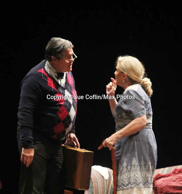 """Guiding Light's Michael O'Leary author of """"Breathing Under Dirt"""" - full play stars with Tina Sloan - had its world premier on August 13 and 14, 2016 at the Ella Fitzgerald Performing Arts Center, University of Maryland Eastern Shore, Princess Anne, Maryland  (Photo by Sue Coflin/Max Photos)"""