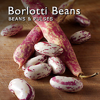 Food Pictures of Fresh Borlotti Beans or Cranberry Beans In Pods & Loose. Food Photos & Images