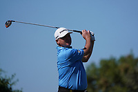 Paul Lawrie (SCO) on the 6th tee during Round 2 of the Abu Dhabi HSBC Championship 2020 at the Abu Dhabi Golf Club, Abu Dhabi, United Arab Emirates. 17/01/2020<br /> Picture: Golffile   Thos Caffrey<br /> <br /> <br /> All photo usage must carry mandatory copyright credit (© Golffile   Thos Caffrey)