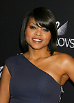 BEVERLY HILLS, CA. - February 17: Actress Taraji P. Henson arrives at the 11th Annual Costume Designers Guild Awards at the Four Seasons Beverly Wilshire Hotel on February 17, 2009 in Beverly Hills, California.