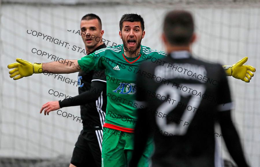 Nemanja Belic Vozdovac - Cukaricki super liga Srbije 5.4.1018. April 5. 2018. (credit image & photo: Pedja Milosavljevic / STARSPORT)