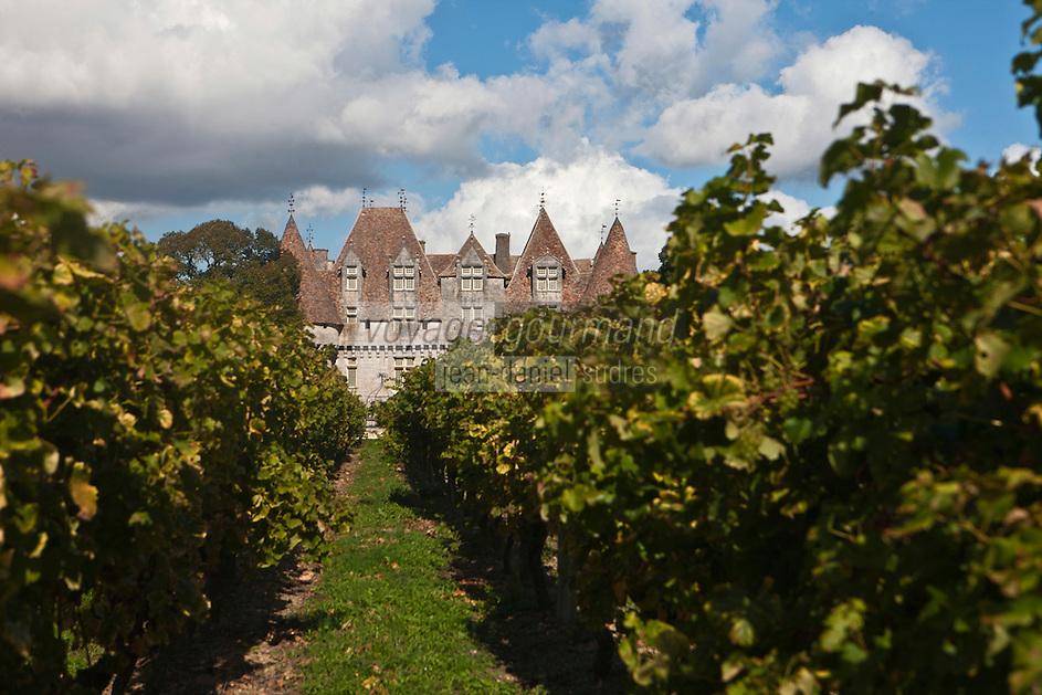 Europe/France/Aquitaine/24/Dordogne/Monbazillac: Château de Monbazillac  qui appartient à la Cave coopérative de Monbazillac