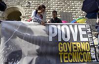 Studenti presentano la manifestazione del 24 Novembre