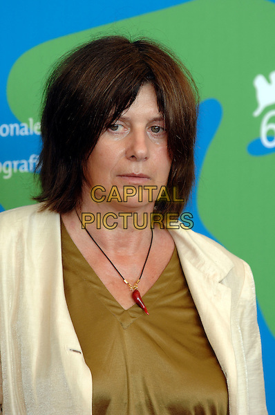 CATHERINE BREILLAT.Jury photocall at the 64th Venice Film Festival (La Biennale di Venezia ), Venice, Italy..August 29th, 2007, Italy.headshot portrait necklace .Ref: CAP/PL.©Phil Loftus/Capital Pictures