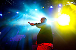 Killer Mike of Run the Jewels performs at Weekend 1 of the Coachella Valley Music and Arts Festival in Indio, California April 11, 2015. (Photo by Kendrick Brinson)