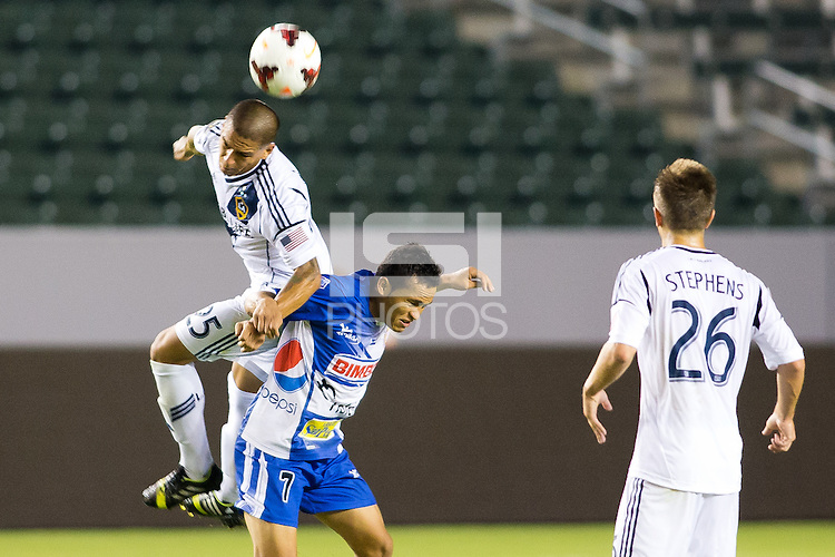 CARSON, California - September 18, 2013: The LA Galaxy defeated Isidro Metapan of El Salvador 1-0 during CONCACAF Champions League play at StubHub Center stadium.