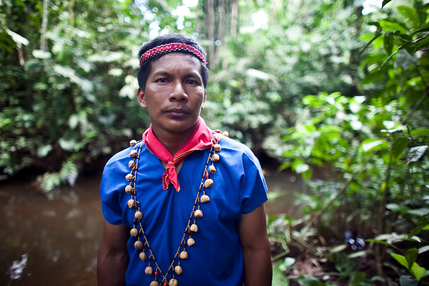 Members of the Cofán Dureno community in northern Ecuador have suffered numerous problems from oil production on their lands. Laura Mendo, 59, recalls a time when the Cofán wandered freely and lived off the land. Now the rivers are contaminated, crops don't grow, and new illnesses and cancer have been introduced.