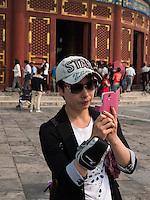 Halle des Ernteopfers-Qinian Dian im Himmelstempel Park, Peking, China, Asien, UNESCO-Weltkulturerbe<br /> Hall of prayer for good harvests, temple of Heaven, Beijing, China, Asia, world heritage