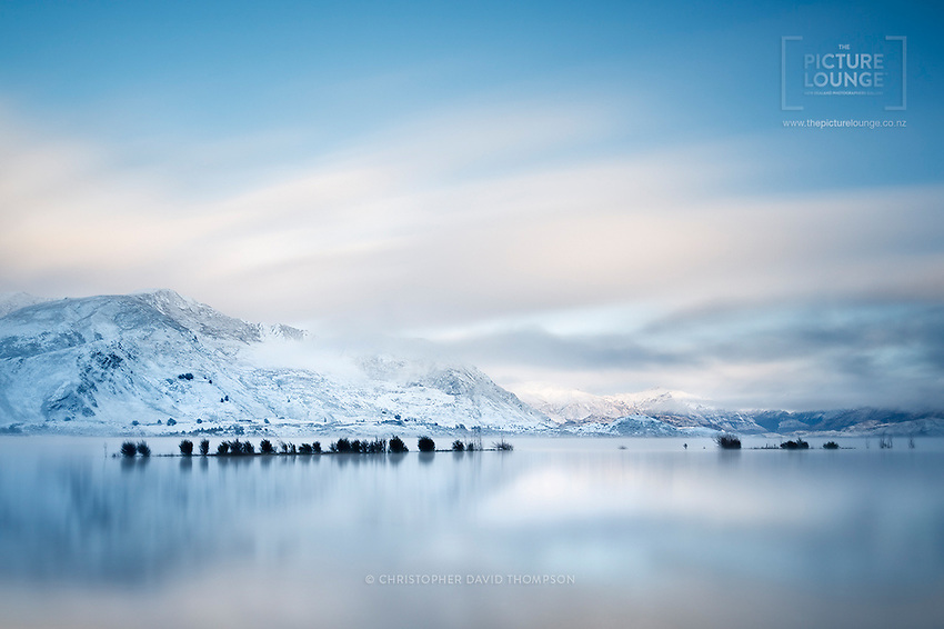 A Dream Floating in a Reality, Lake Wanaka in Winter from Bremner Bay