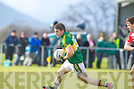 Stephen O'Brien  Kerry in action against Eoin Byrne Cork IT in the semi final of the McGrath Cup at John Mitchells Grounds on Sunday.