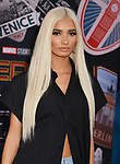 """PiaMia - Recording artist 009 arrives for the premiere of Sony Pictures' """"Spider-Man Far From Home"""" held at TCL Chinese Theatre on June 26, 2019 in Hollywood, California"""