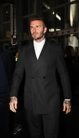 David Beckham in the front rowDior Homme show, Front Row, Pre Fall 2019, Tokyo, Japan - 30 Nov 2018<br /> CAP/SAT<br /> &copy;Satomi Kokubun/Capital Pictures