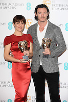 Helen McRory and Luke Evans at the announcement of the nominations for the 2014 EE BAFTA Film Awards, BAFTA , London. 08/01/2014 Picture by: Steve Vas / Featureflash