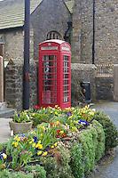 Red phone box, Chipping, Lancashire.