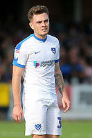 Ben Thompson of Portsmouth, currently on loan from Millwall during AFC Wimbledon vs Portsmouth, Sky Bet EFL League 1 Football at the Cherry Red Records Stadium on 13th October 2018