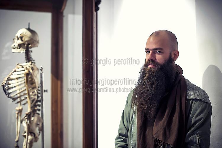   Julius von Bismarck - artist   <br /> client: Artissima 2014 - Turin International Contemporary Art Fair