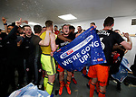 Team celebrations during the English League One match at Sixfields Stadium Stadium, Northampton. Picture date: April 8th 2017. Pic credit should read: Simon Bellis/Sportimage