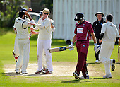 Cricket Scotland Scottish Cup Final - Watsonians CC V Heriots CC at Titwood - Glasgow - Heriots spinner Keith Morton (centre left) celebrates the wicket of Watsons former Saltire Dewalt Nel - 02.9.12 - 07702 319 738 - clanmacleod@btinternet.com - www.donald-macleod.com (see story W Dick 077707 839 23)