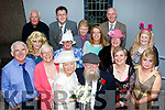 Acting Funny<br /> ------------------<br /> Members of the cast in ' Who's D' Daddy ' stage play by Val Sweeney, which sold out for 3 nights starting last Thursday by the Camp drama group in the local community hall, Camp, were Tadgh O'Halloran, Eileen Quirke, Mike Nolan, Sean Scally, Ann Eagar, Hazel Evans, Val Sweeney, Gene Finn, Breda Quirke, Jacinta O'Brien, Rommel Perez, Mary Moran, Mike O'Neill, Margaritte Russel and Elayne VanKenlen.