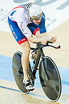 Joseph Truman of Great Britain competes in the Men's Kilometre TT - Qualifying during the 2017 UCI Track Cycling World Championships on 16 April 2017, in Hong Kong Velodrome, Hong Kong, China. Photo by Chris Wong / Power Sport Images