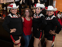 Jocelyn Renteria, Lorraine Ballardo, Larissa Ballardo, and Stephanie Renteria attend The Shops at Montebello Hispanic Heritage Month Event on October 11, 2015. (Photo: Taylor Lewis/ Guest of A Guest)